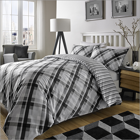 Vintage Check Bed Sheet