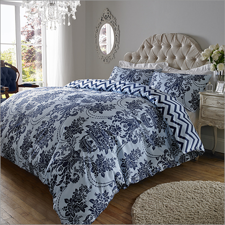 Sky Navy Blue Bed Sheet