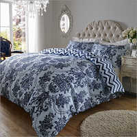 Sky Navy Blue Bed Sheet