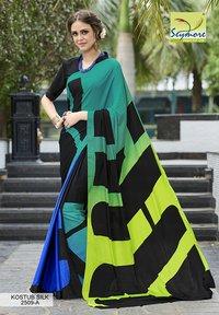 Attractive Crepe Printed Saree