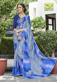 Crepe Synthetic Saree