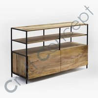 WOOD & METAL CONSOLE