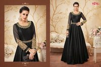 ANARKALI TYPE LONG WORK SUITS