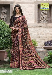 Crepe Printed Saree