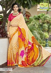 Designer Fancy Printed Saree