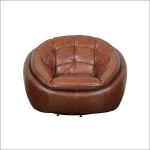 Revolving Leather Sofa