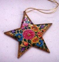 Paper Mache Christmas Star