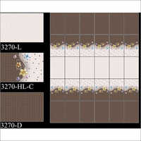 250 x 375 mm Digital Wall Tiles For Kitchen