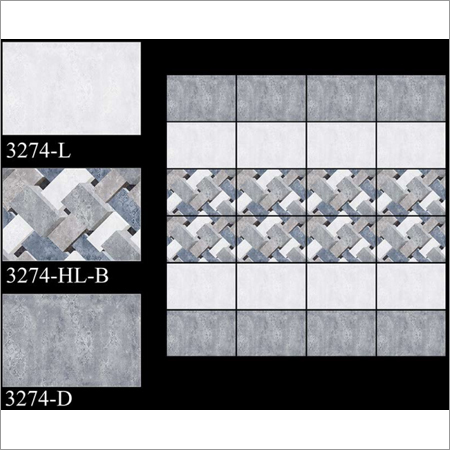 250 x 375 mm Digital Wall Tiles For Bathroom
