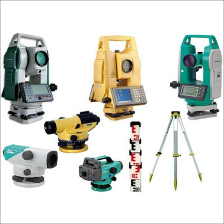 Building Survey Equipment - Total Stations