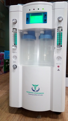 Dual Flow Oxygen Concentrator With SPO2 Nebulizer