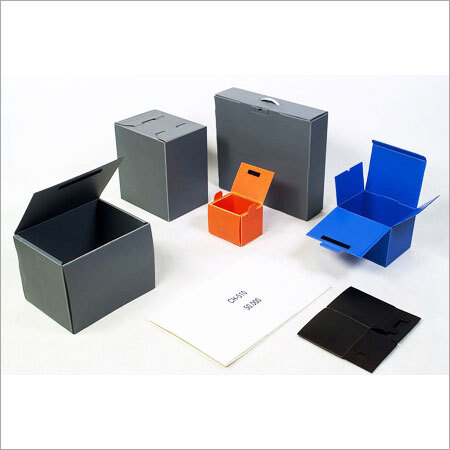Multicolor PP Corrugated Boxes
