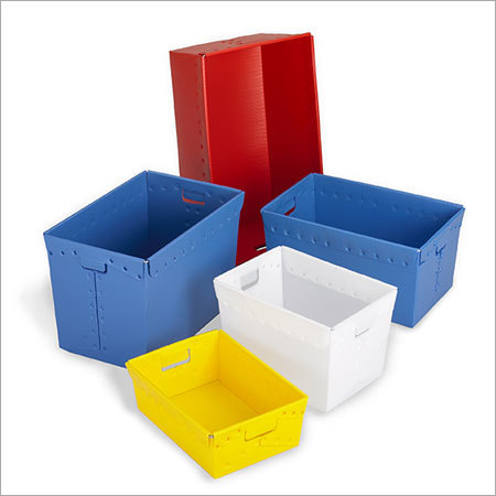 Multicolor PP Corrugated Boxes Set