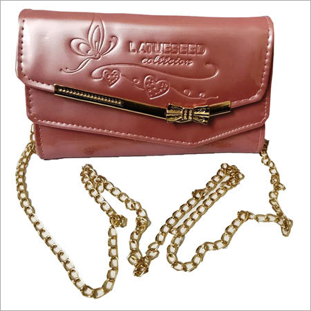 Ladies Sling Bags with Chain