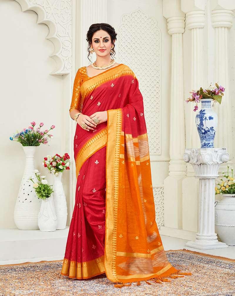 Classic Linen Banarasi Silk Sarees
