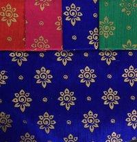 Silk Foil Prints Fabric