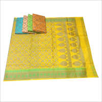 Colored Banarasi Saree