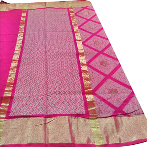 Ladies Printed Banarasi Saree