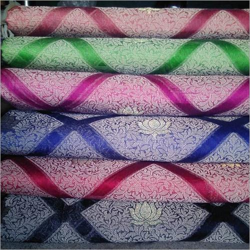 Tassar Silk Printed Banarasi Saree