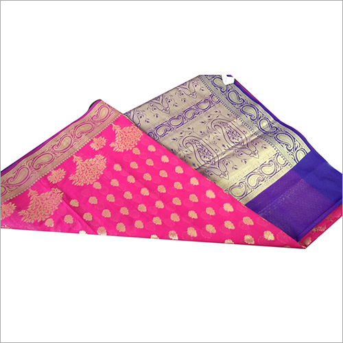 Golden Designer Banarasi Saree