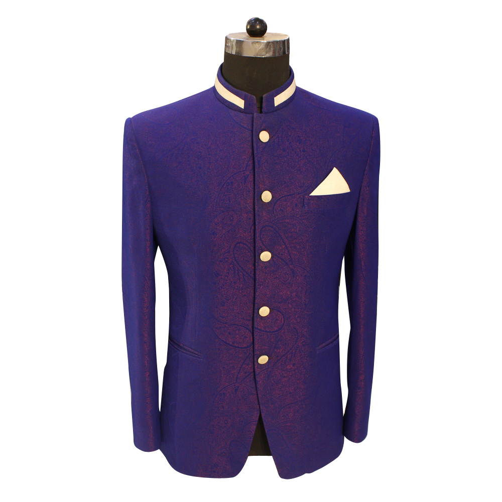 Men's Jodhpuri Blue Suit