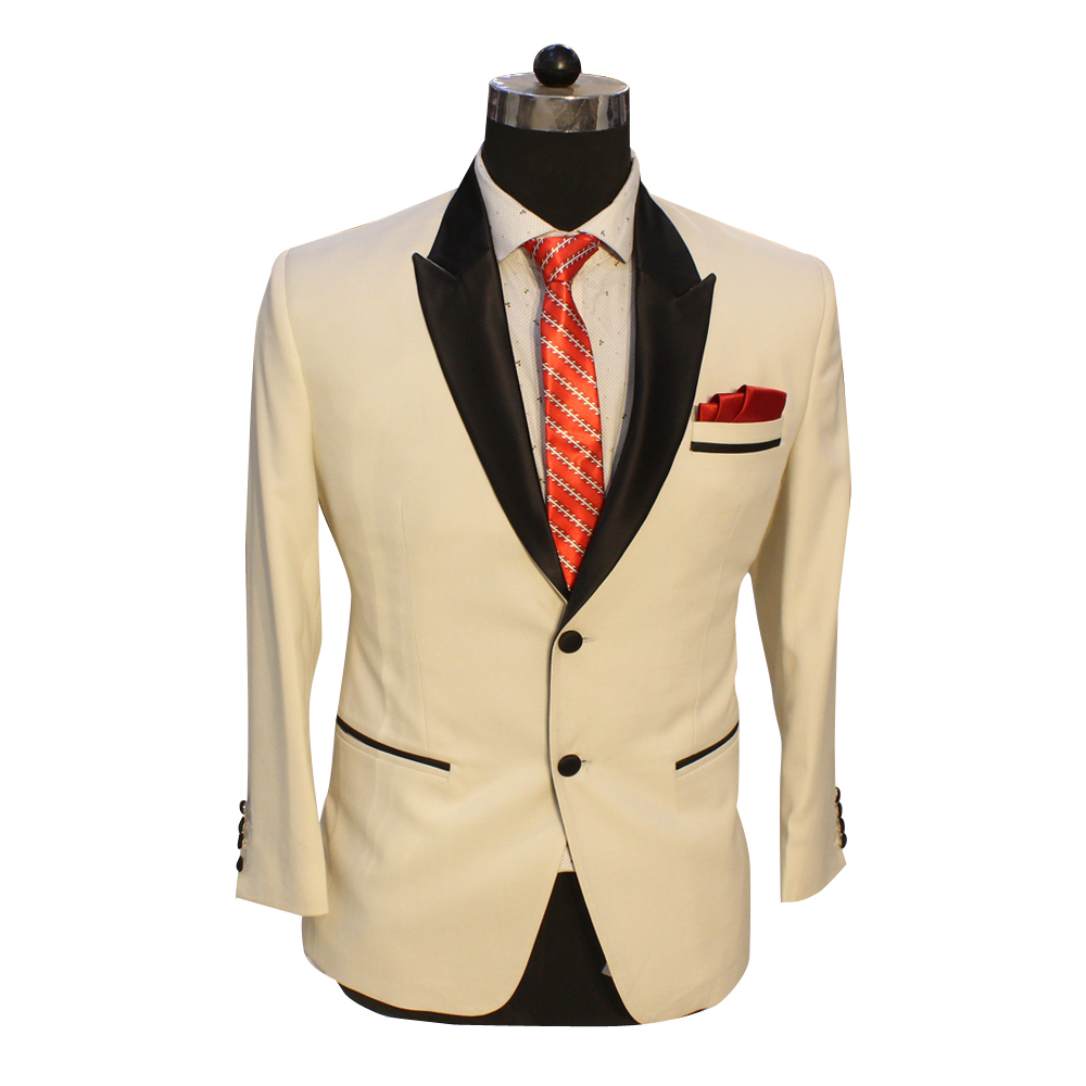 Men's Cream Wedding Suit