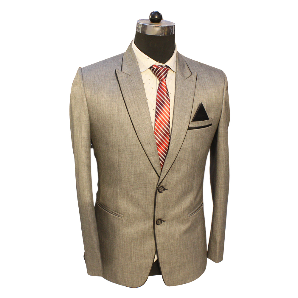 Golden Beige Color Two Piece Suit