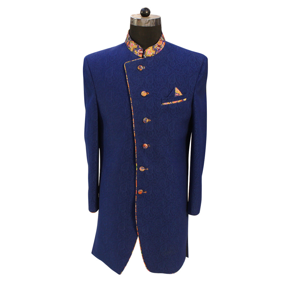 Men's Blue Color Wedding Suit