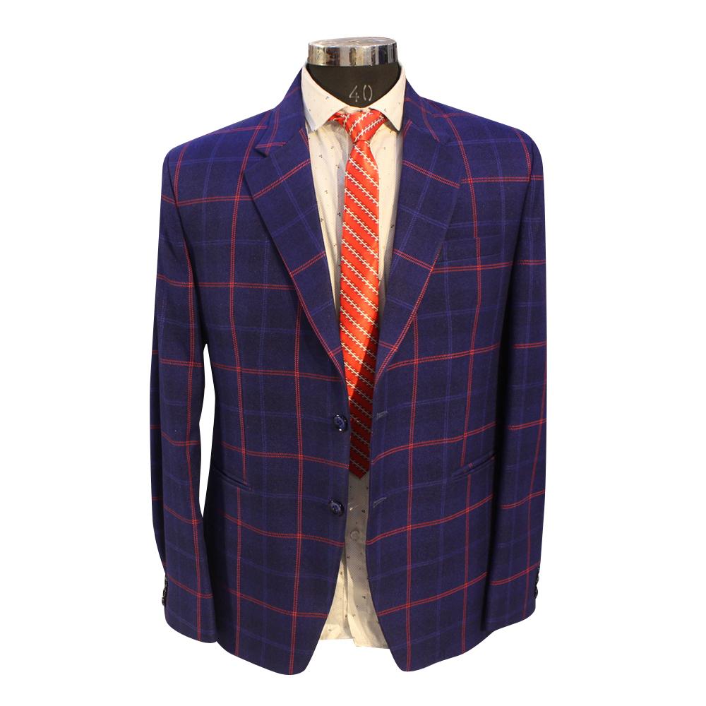 Men's Blue Color Blazer