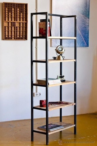 Iron Book Shelf