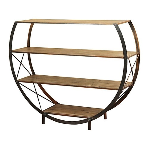 Round Book Shelf With Legs