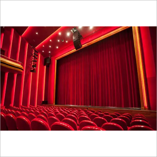 Smart Auditorium Motorized Curtain System