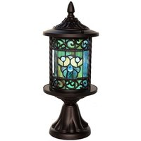 River of Goods 15088S Tiffany Style Stained Glass LED 17.75