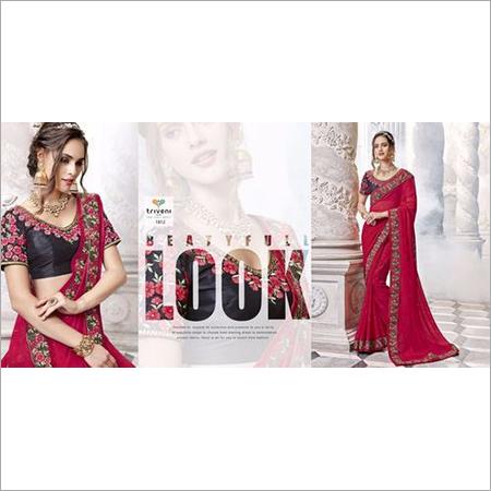Embroideries Designer Saree
