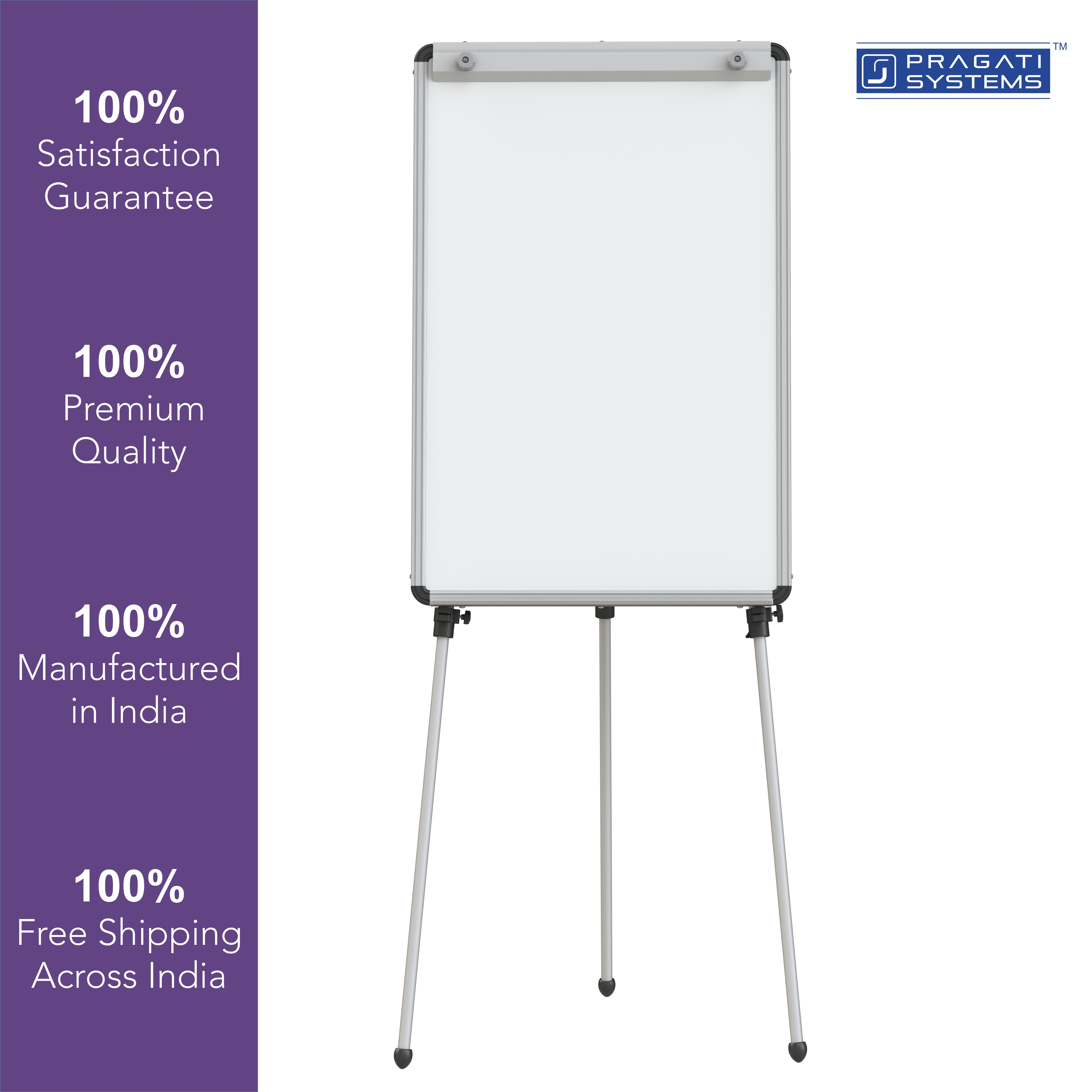 Flipchart Easel Stand with 2x3 Prima RM Whiteboard