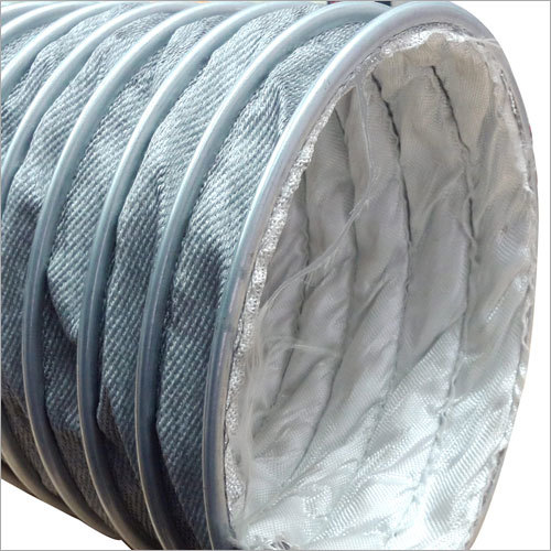 Glass Fabric High Temp Hose 400C TO 1100C