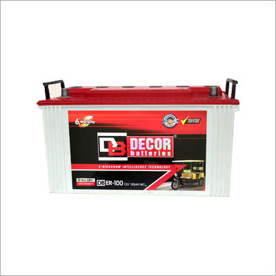 Automotive E-Rickshaw Battery