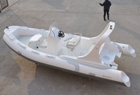 19 Feet Hypalon Semi Rigid Inflatable Boat