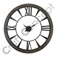ROMAN METAL WALL CLOCK