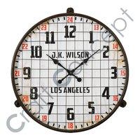 Old Look Metal Wall Clock