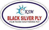 Silver Black Ply