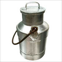 12 Lt Aluminium Cycle Milk Can