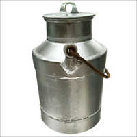 15 Lt Cycle  Aluminum Milk Can