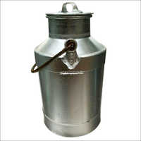 25 Lt Aluminum Cycle Milk Can