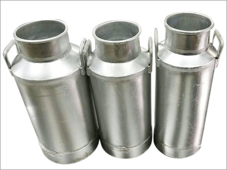 Aluminium Freezer Milk Storage Can