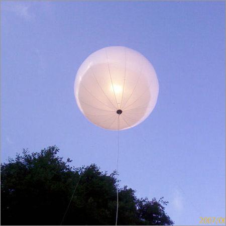 Light Advertising Hydrogen Gas Balloon
