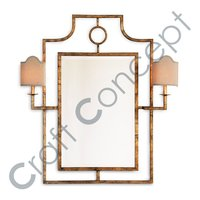 GOLDEN FRAME MIRROR