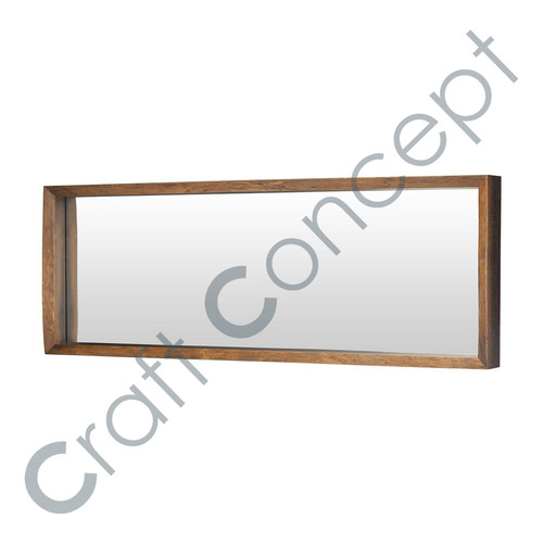 WOODEN RECTANGLE MIRROR