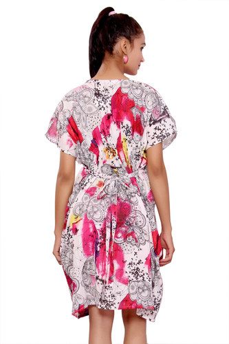 Cotton Women Fit and Flare Pink Dress