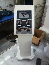 Deep heat machine with trolly